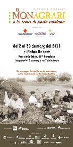 """Cartell de l'exposició itinerant """"El món agrari a les terres de parla catalana"""""""