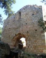 Façana monestir de Santa Maria de Roca Rossa (Tordera, El Maresme)