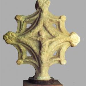 Creu de Terme gòtica de Cabrils. Foto Joaquim Graupera