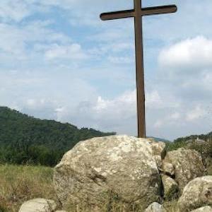 Aspecte actual de la creu de Can Boquet